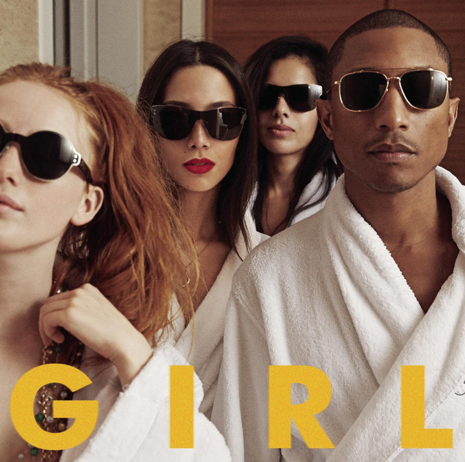 Image result for PHARRELL WILLIAMS G I R L