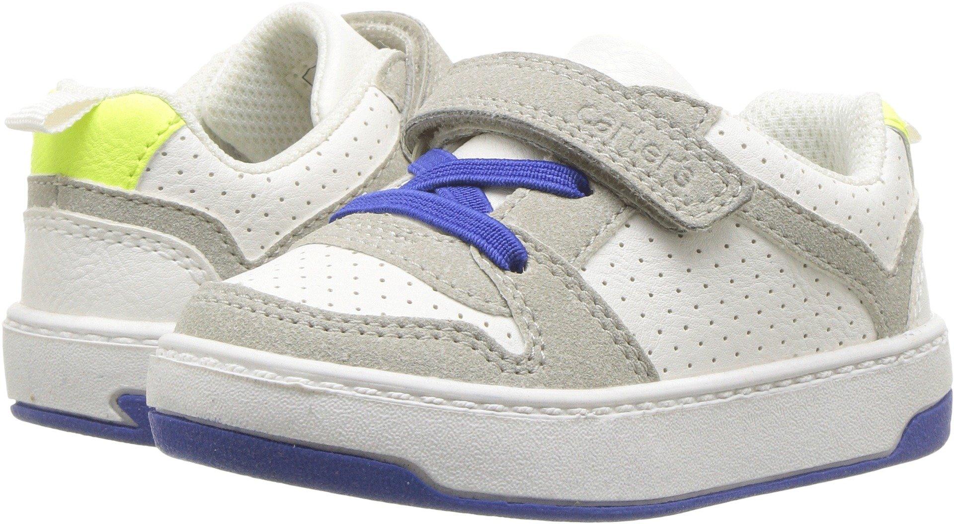 Carter's Boys' Vick Athletic Sneaker, White, 5 M US Toddler