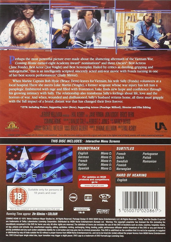 Coming Home [Reino Unido] [DVD]: Amazon.es: Jane Fonda, Jon ...