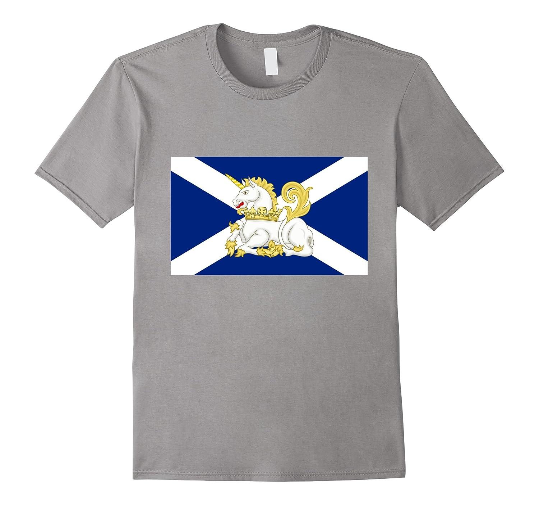 scotlands national animal unicorn on scottish flag t shirt u2013 beckkam