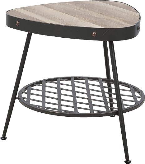 mauro ferretti Empire Table de Café en Métal Marron 77,5 X