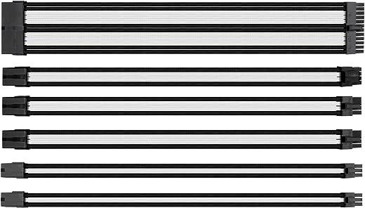 مجموعة كابل التزويد بالطاقة، وصلة بغلاف خارجي من ثيرمال تيك، عُلب، أسود أزرق (AC-035-CN1NAN-A1) AC-048-CN1NAN-A1