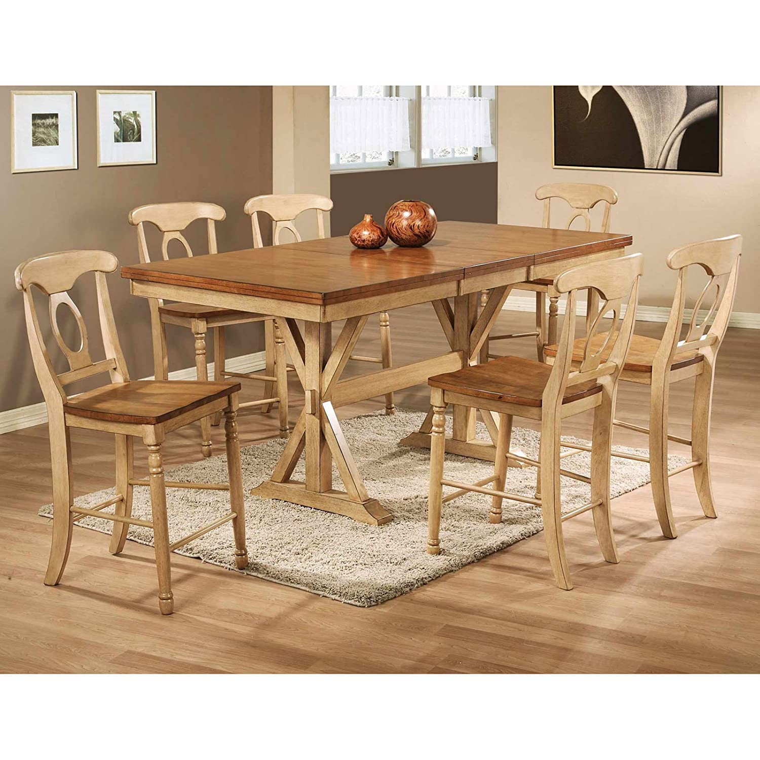 Amazon Winners ly Quails Run Counter Height Dining Table