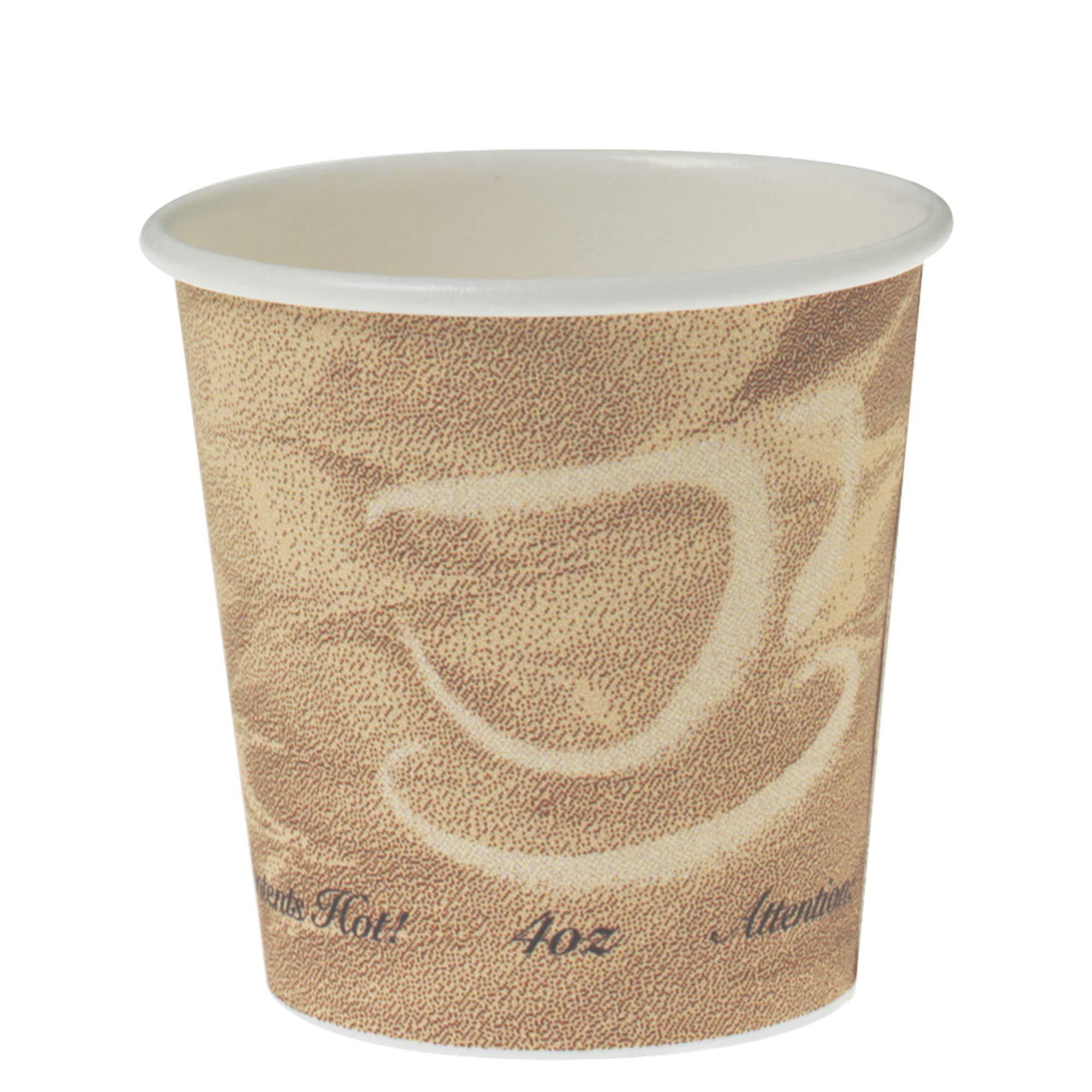 Solo 374MS-0029 4 oz Mistique SSP Paper Hot Cup (Case of 1000)