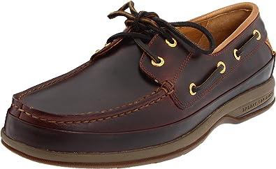 Sperry Top-Sider Men's Gold 2 Eye Boat Shoe,Amaretto,7 ...