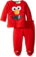 Warner Brothers Baby Boys' Sesame Street Elmo Fleece Jacket and Pant Set