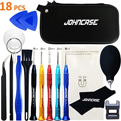 Deluxe Cell Phone Repair Tool Kits Compatible with iPhone 6s 8 in 1 Professional Screwdriver Repair Open Tool Kit Repair Kits