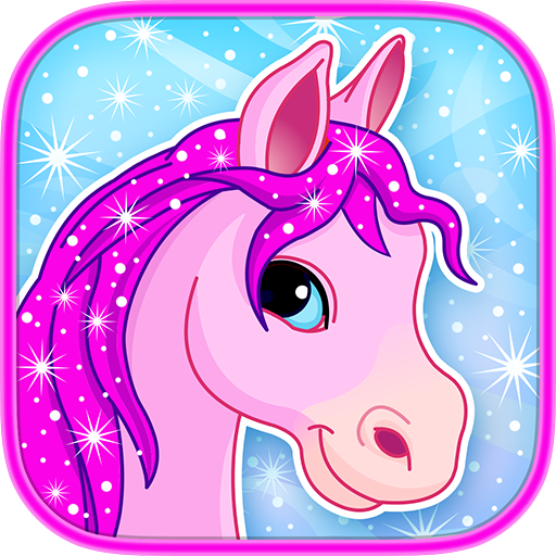 Pony in Candy World : Adventure Arcade Game : Free
