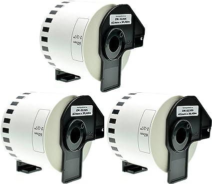 5x kompatible Ersatz Etiketten Rollen für Brother P TouchQL580 TouchQL580N 29m E