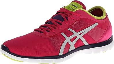 Zapato de entrenamiento cruzado Nova Fit para mujer, color rosa / plata / lima, 11 M US: Amazon.es: Zapatos y complementos