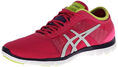 ASICS Women's Gel Fit Nova Cross-Training Shoe,Hot Pink/Silver/Lime