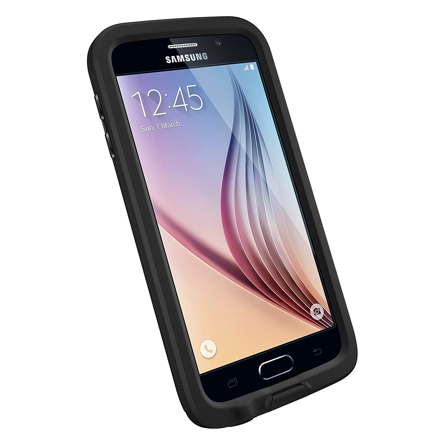 Samsung galaxy s6 - Amazon Com Lifeproof 77 51242 Waterproof Case For Samsung Galaxy S6 Retail Packaging Black Cell Phones Accessories