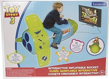 Lexibook JG6000TS - Cohete inflable de Buzz Lightyear para juegos de TV [Importado de Alemania]