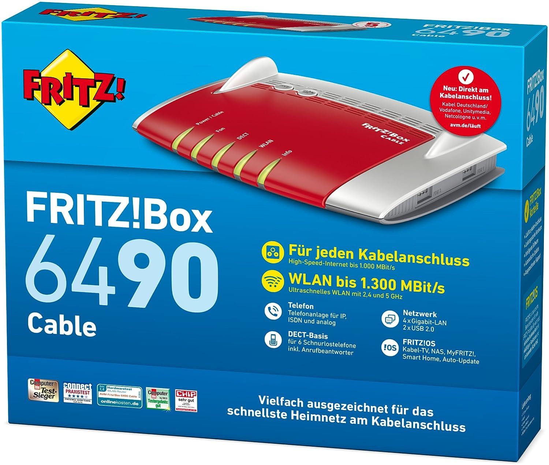 FRITZ!Box 6490 (Kabel)