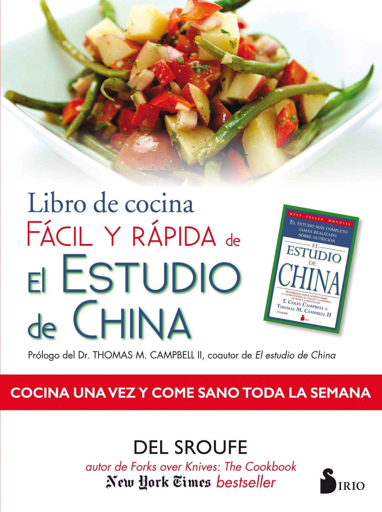 Libro de cocina fácil y rápido de estudio de china: Amazon.es ...