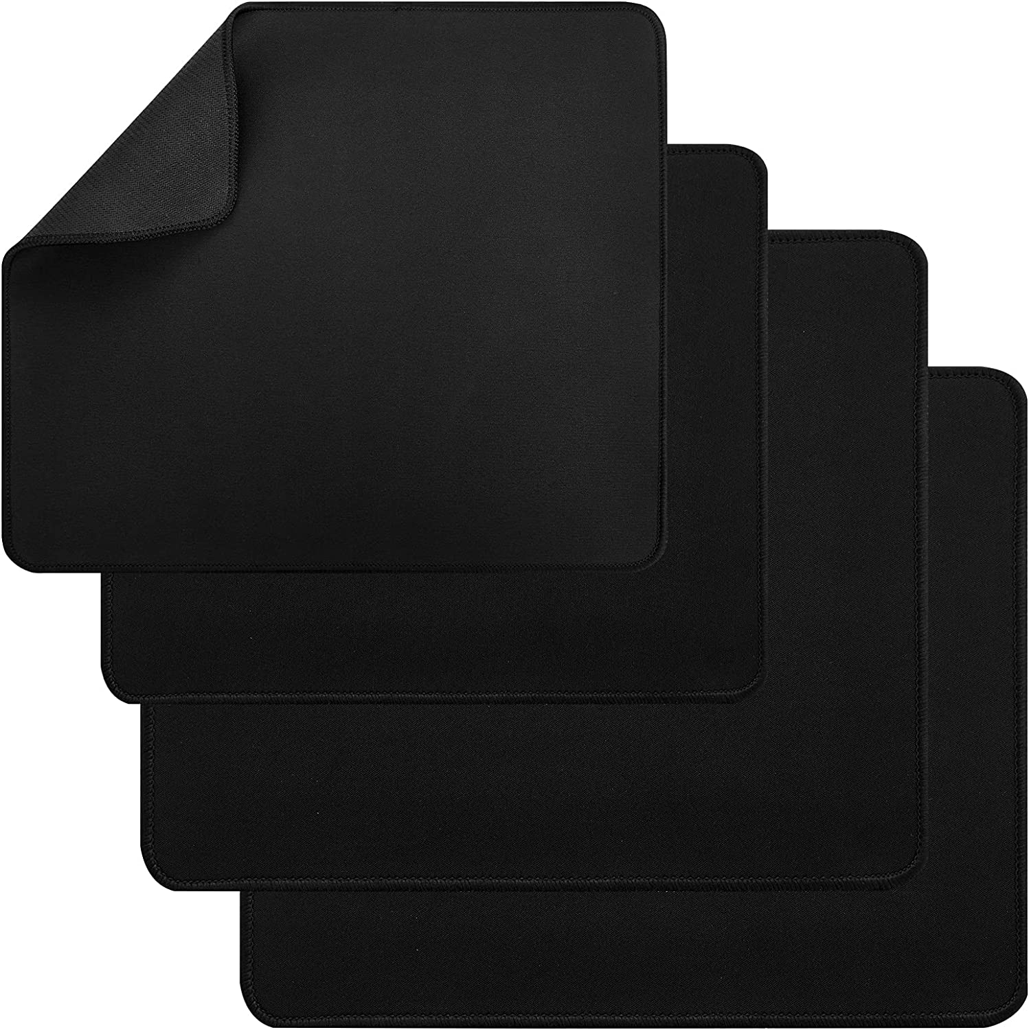 4 Pack Kitchen Appliance Sliding Mats,Slide Mats for Moving Small Appliances - Slider for Coffee Makers, Blenders, Stand Mixers, Toasters