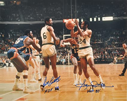 Image Unavailable. Image not available for. Color  Bill Russell   Sam Jones  - Celtics Legends Autographed ... c56d9dd13