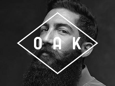 OAK BEARD WASH I Champú para barba (200 ml): Limpia cuidadosamente y refresca. Cuidado natural de la barba para hombres con barba de 3 días hasta barba larga. Cosmética natural vegana y certificada.