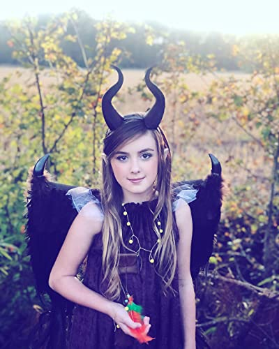 Amazon Com Small Young Maleficent 7 Inch Horns Horned