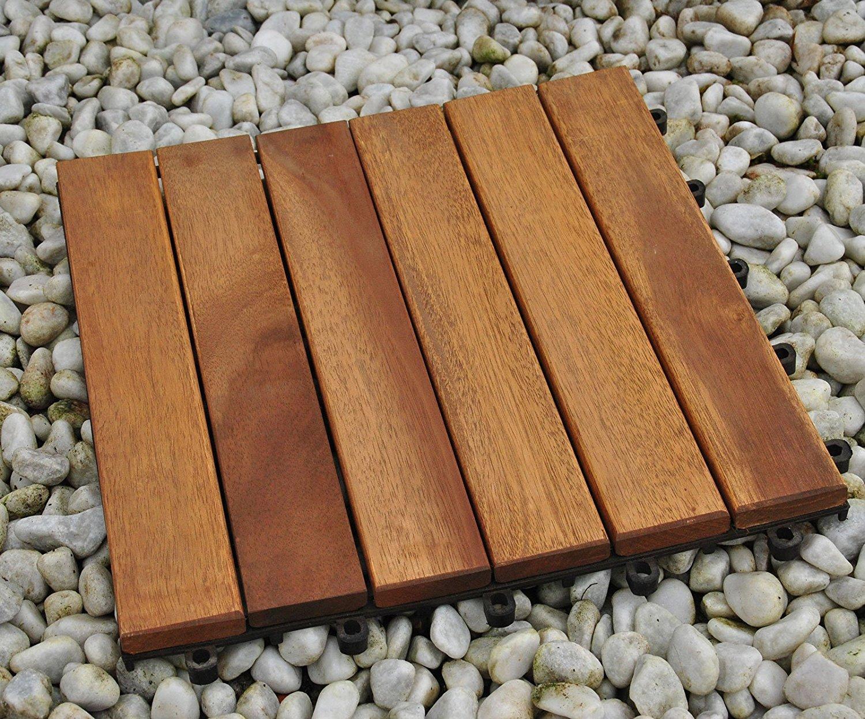 Fabelhaft SAM Terrassenfliese 01 Akazienholz, Einzelfliese, FSC® 100 #RX_15