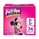 Pull-Ups Learning Designs for Girls Potty Training Pants, 2T-3T  (18-34 lbs.), 74 Ct. (Packaging May Vary)