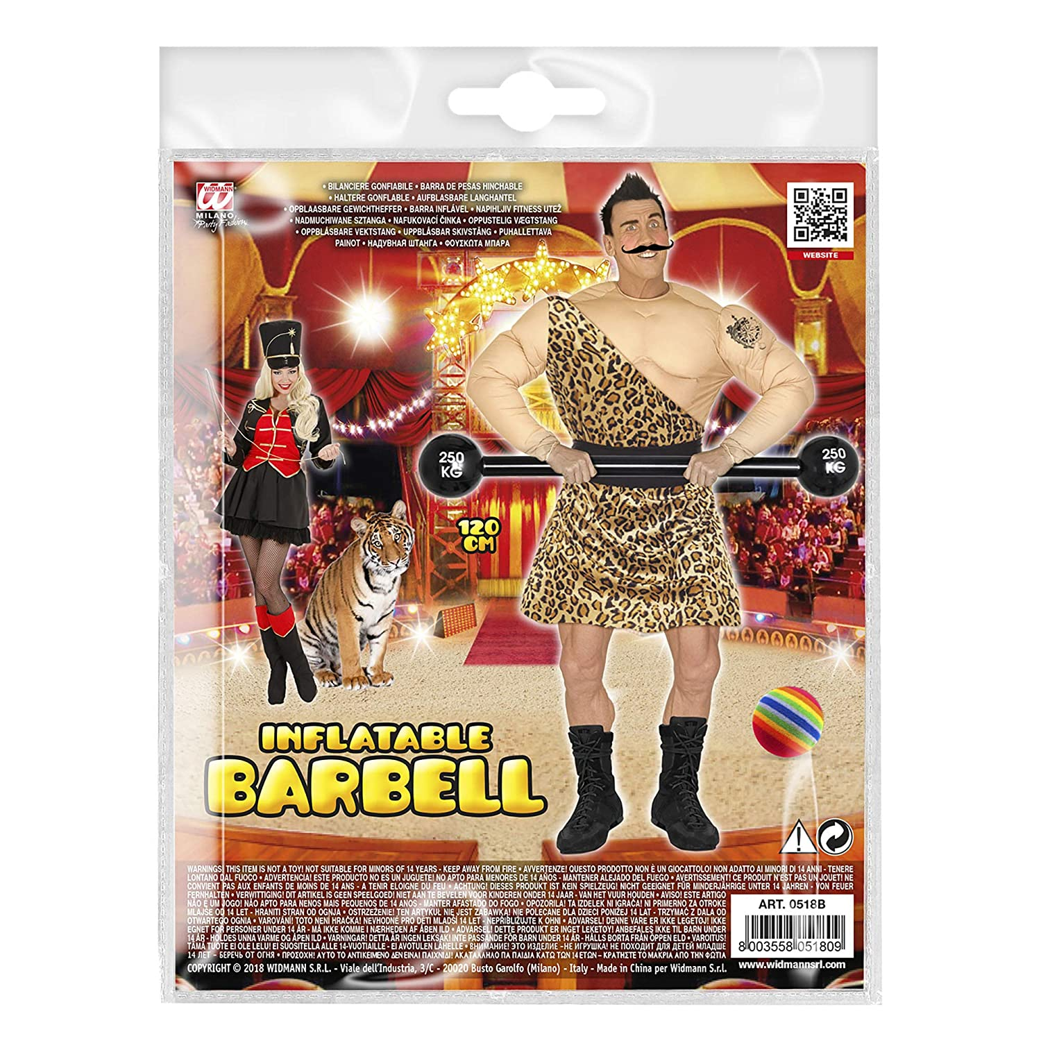 120cm Inflatable Barbell