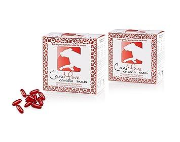 canimove doble Pack (200 Cápsulas) Cardio Maxi – tierärztliches Dietas de complemento Forro en