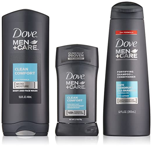 Dove Men+Care Everyday Gift Pack, Clean Comfort