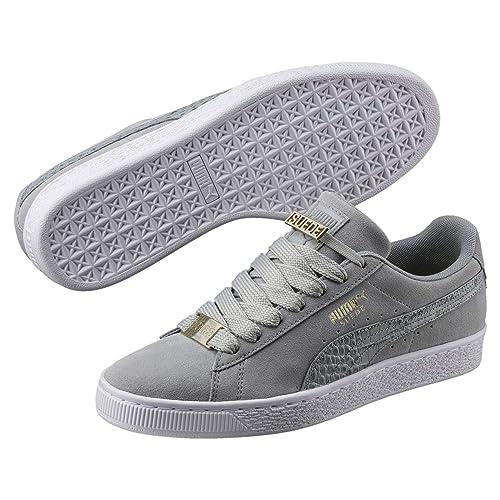 3f020a1d2 Puma Suede Classic Bboy Fabulous Hombre Zapatillas Gris  Amazon.es  Zapatos  y complementos