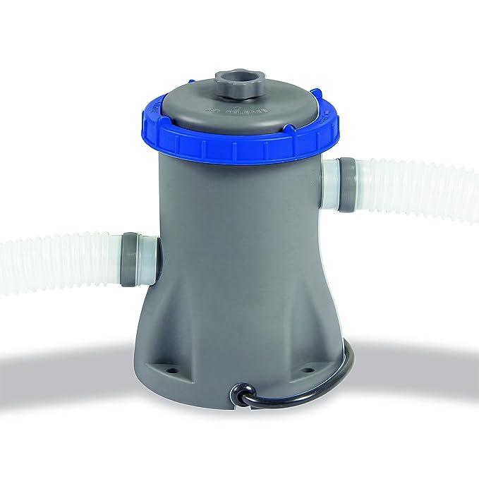Amazon.com: (Bestway) rápido Set piscina con bomba de filtro ...