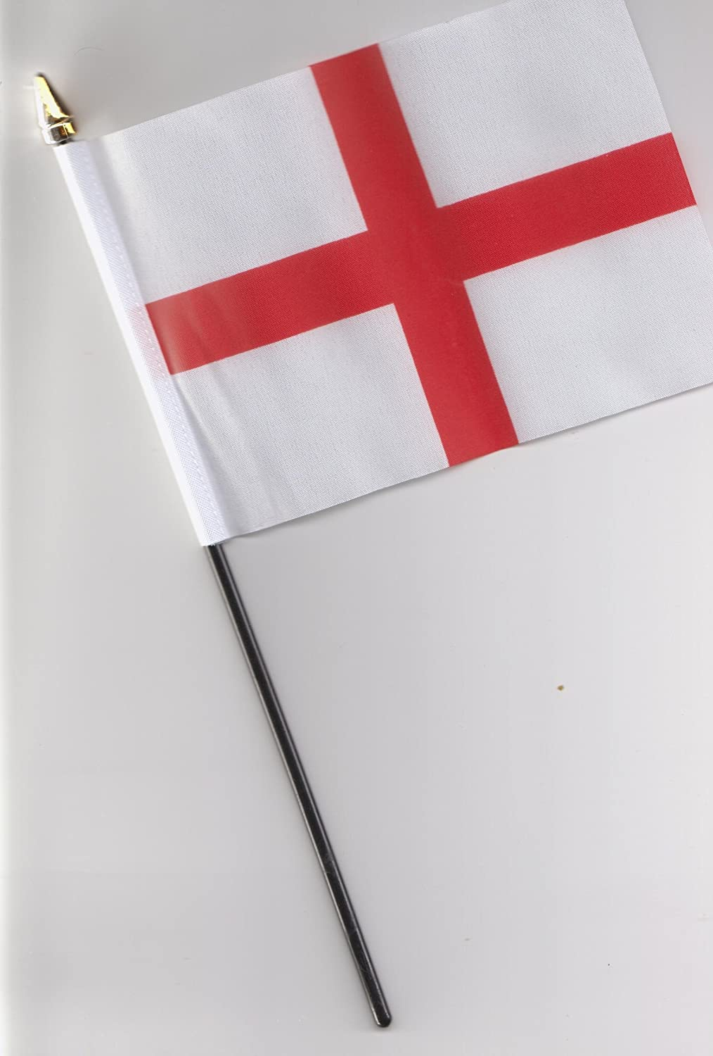 England St George Cross Hand Flag 25cm by 1000 Flags