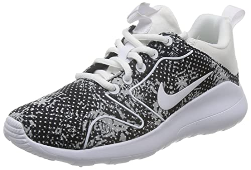 Nike Wmns Kaishi Print Zapatillas de Deporte, Mujer, Negro