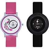 Frida Analogue Multicolour Dial Women's Watch
