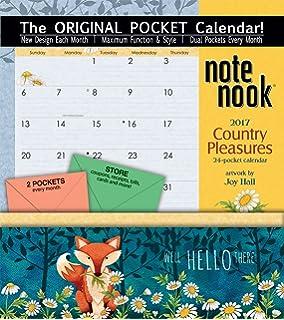 Amazon.com : Orange Circle Studio 2017 Pockets Plus Wall Calendar ...