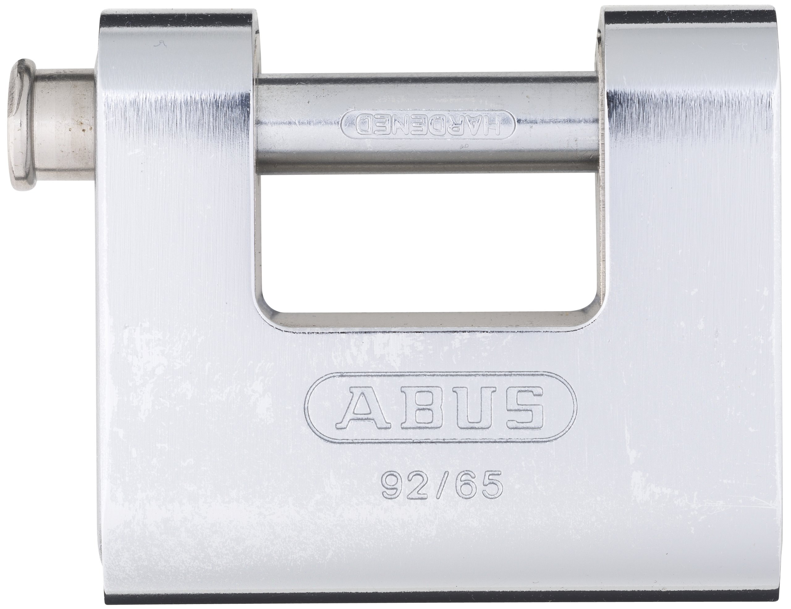 ABUS 92/65 Monoblock Solid Brass with Steel Jacket Padlock Keyed Different by ABUS