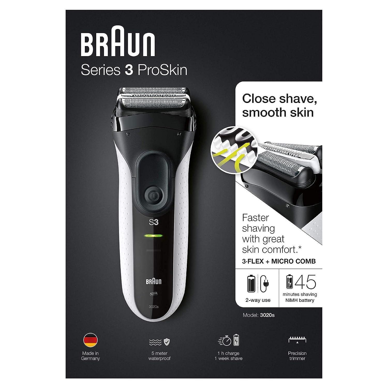 Braun Series 3-3020 schwarz