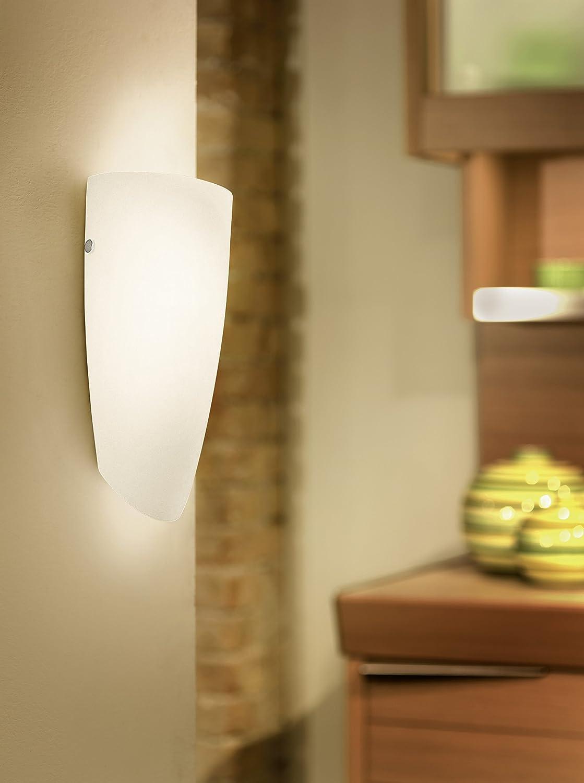 EGLO NEMO illuminazione da parete Adatto per uso interno Nichel E27 60 W