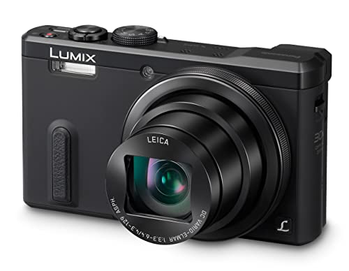 Panasonic DMC-TZ60EB-K Lumix Compact Digital Camera (18.1 MP, 30x Optical Zoom, High Sensitivity MOS Sensor) 3 inch LCD (New for 2014) - Black
