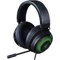 Razer Kraken Ultimate RGB USB Gaming Headset: THX 7.1 Spatial Surround Sound - Chroma RGB Lighting - Retractable Active Noise Cancelling Mic - Aluminum & Steel Frame - for PC - Matte Black