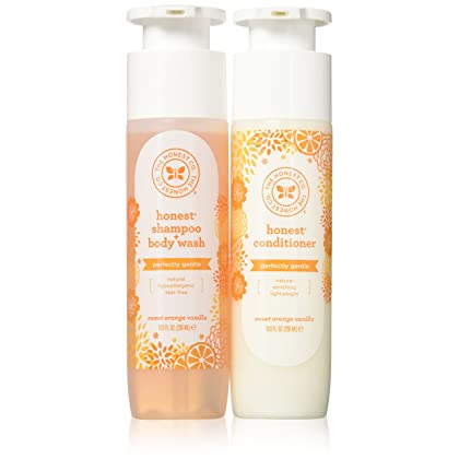 939d2aabe08 The Honest Company Shampoo & Conditioner Set 10 fl.oz.(296mL), Pack of 2