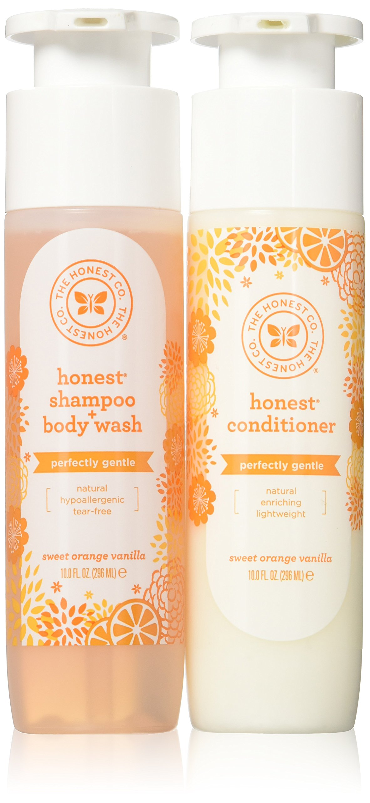 The Honest Company Shampoo & Conditioner Set 10 fl.oz.(296mL), Pack of 2 by The Honest Company