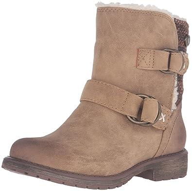 Roxy RG Cassy Boots Slip-On (Little Kid/Big Kid), Tan