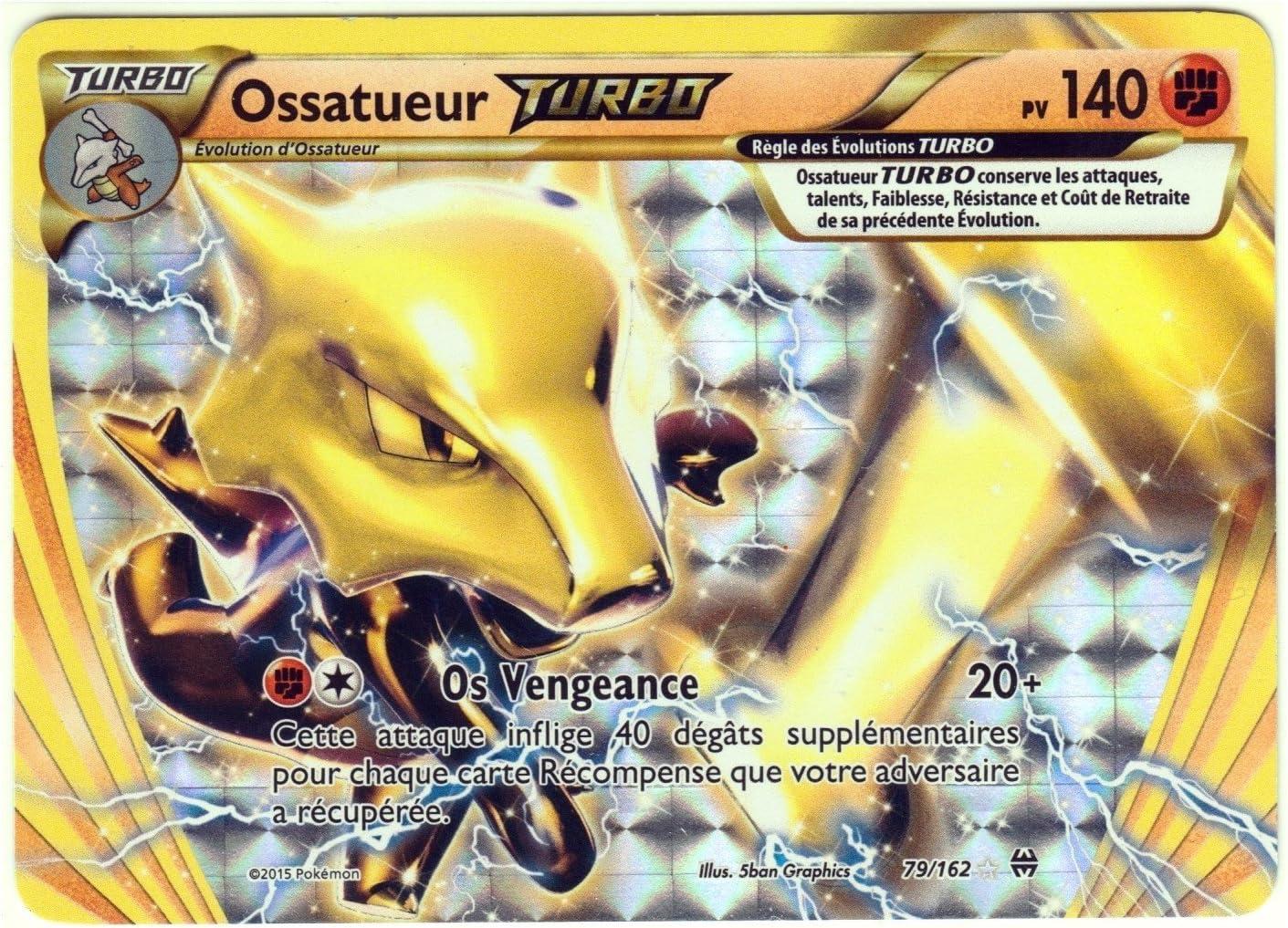 Pokemon card 108//162 reverse coupenotte xy8 impulse turbo fr new