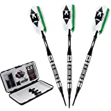 Viper Element 90% Tungsten Soft Tip Darts with Storage/Travel Case, 18 Grams