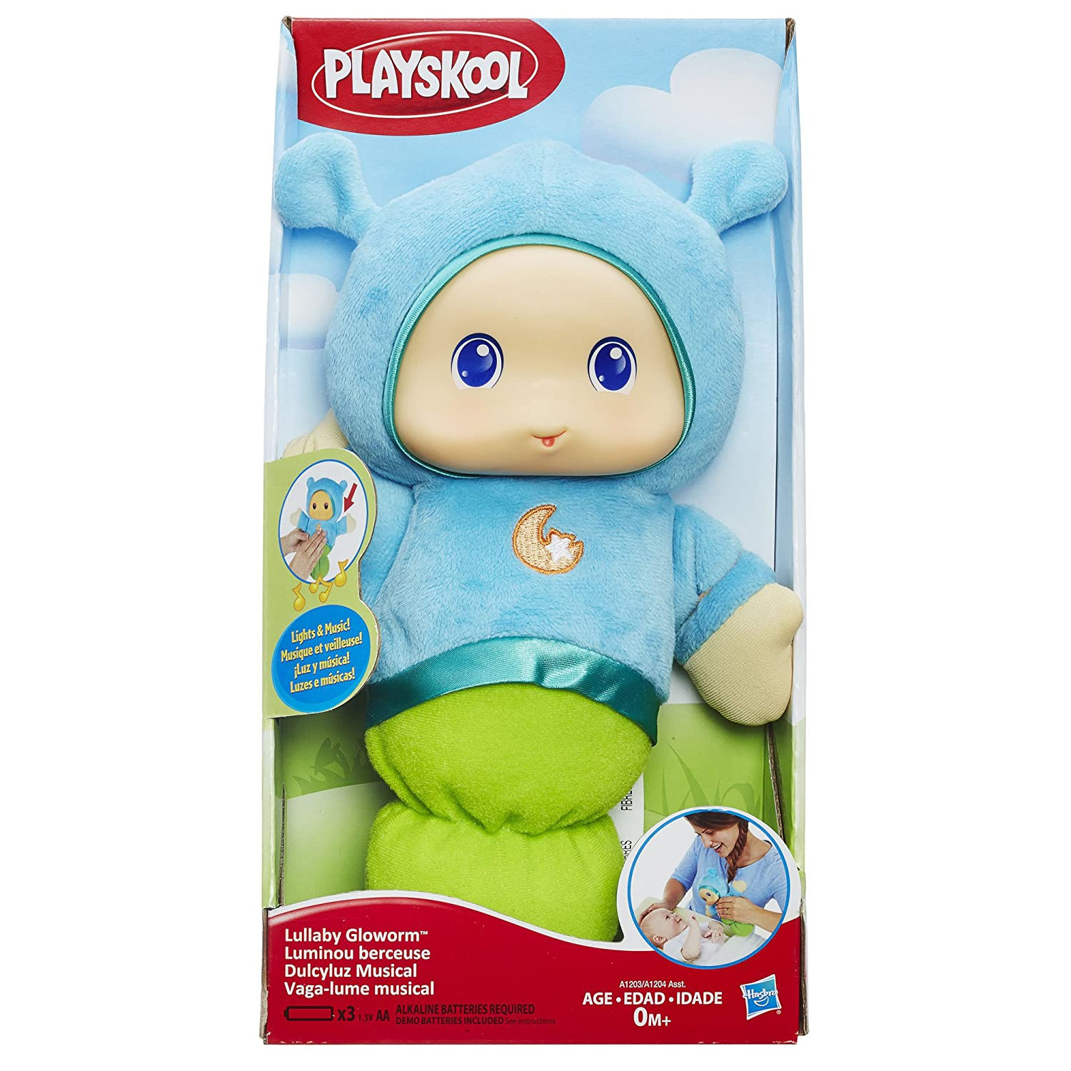 Playskool Favorites Lullaby Gloworm Toy, Blue: Amazon.ca: Toys & Games