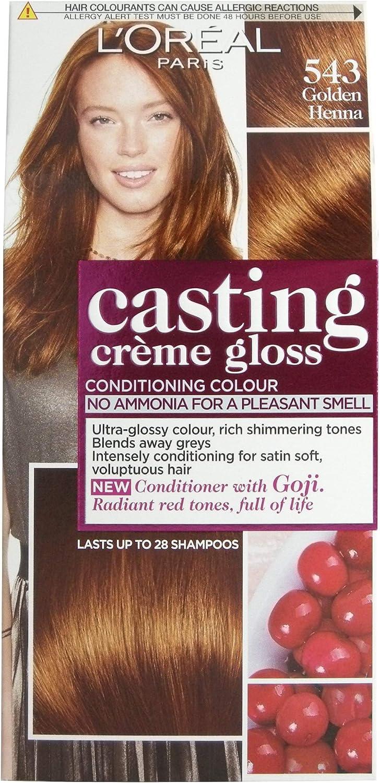 LOréal Casting Créme Gloss Golden Henna 543