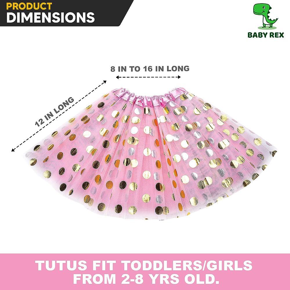 Light Pink Pettiskirt Polka Dots 3rd Birthday Baby Set