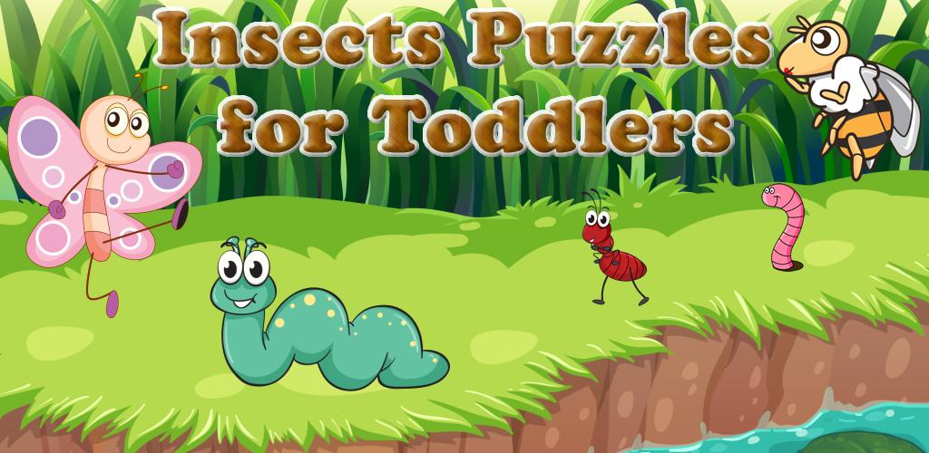 Puzzles de insectos para ni os peque os y ni as juegos de - Puzzles para ninos pequenos ...