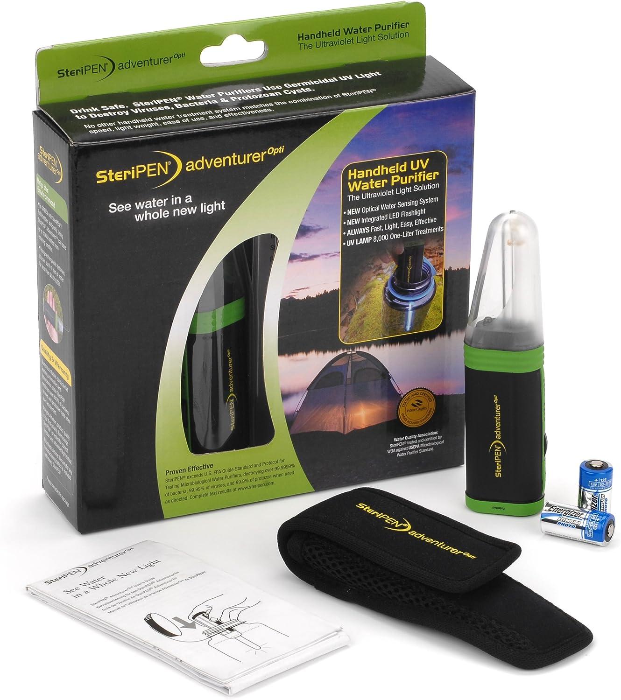 SteriPEN UV Ado-RP-GF Adventurer OPTI - Purificador de Agua ...