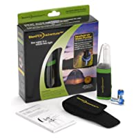 SteriPen Adventurer Opti ADO-RP-GF Kit de traitement UV de l'eau Format poche Noir/Vert